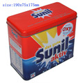 detergent product packing tin