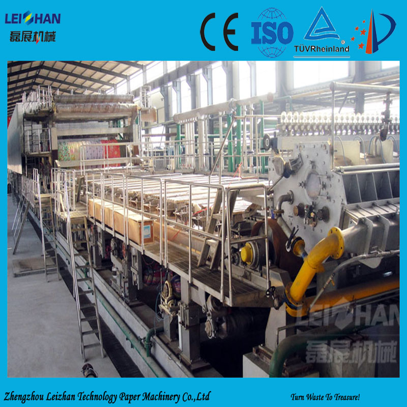 Waste paper recycle carton making machine for small paper plant