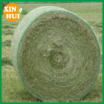Changzhou xinhui plastic white silage wrap bale net for grass balers with high quality