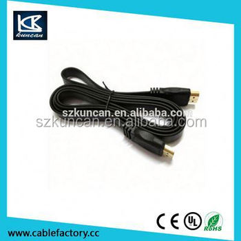 For HDTV /Project/DVD player 3ft 5ft 6ft 1.4v microhdmi cable