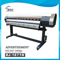 2016 new 1.6m dx7 head 4 color digital outdoor banner plotter