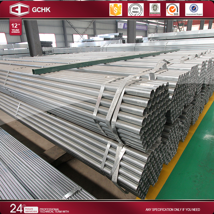 steel raw materials erw astm a53 pre galvanized iron pipe g.i.