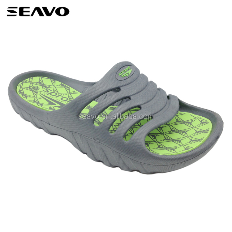 SEAVO SS18 china discount grey comfortable EVA garden clogs for men