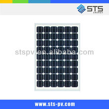 mono solar panel 100W with hot sale