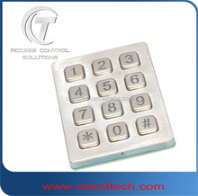 standalone backliting keypad for access control systems locking
