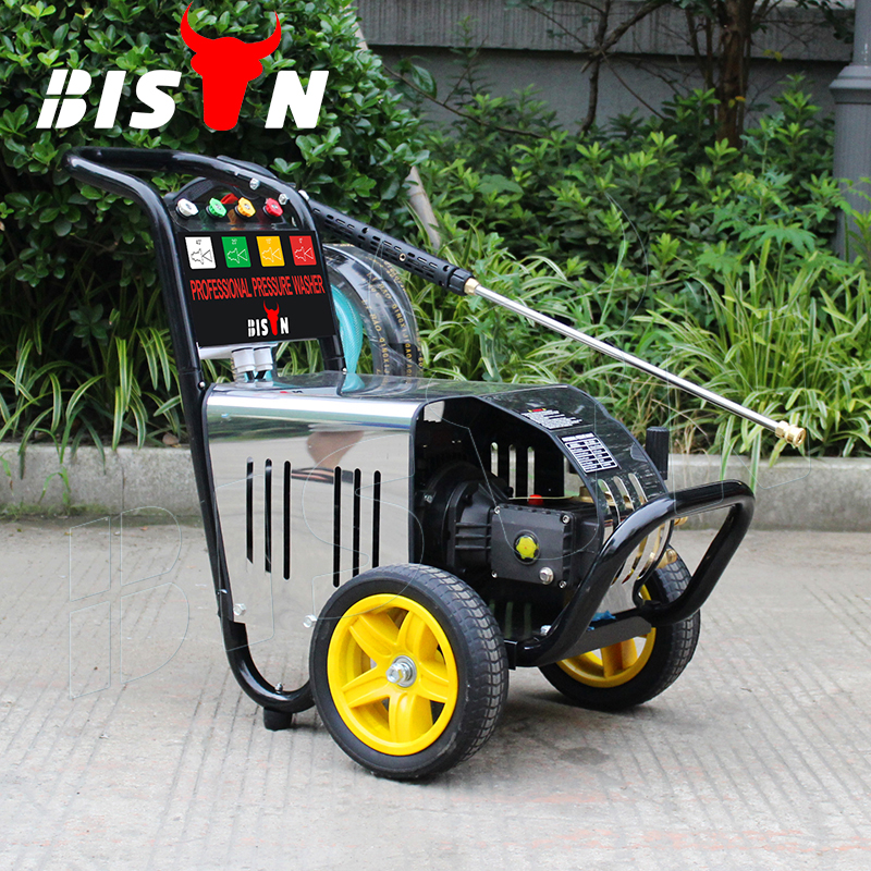 BISON(CHINA) BS-2600 180Bar Electric Hot Sale Multi-function High Pressure Washer