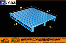 Standard 1000x1000 Steel Euro Pallet with 4 entry access