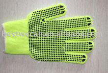 Neon color freezer glove