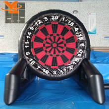 Popular Durable PVC Inflatable Soccer Foot Darts, Dart Board Sports Game, Golf Dartboard