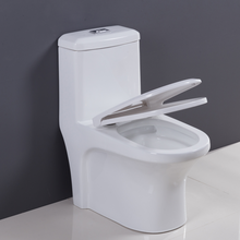 Cupc elongated one piece toilet bowl