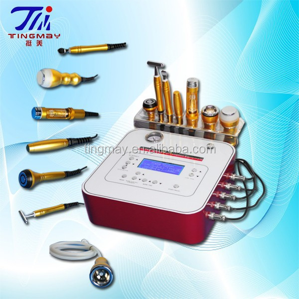 7 in 1 microdermabrasion machine/cryo electroporation no needle mesotherapy machine