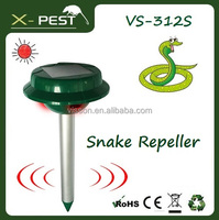 X-pest VS-312S Solar sonic snake repeller with led night ,solar ultrasonic electronic pest repeller control, mole trap