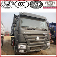 HOWO brand Chinese tipper truck for sale