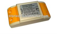 12V 320mA constant current triac dimmable led driver 350mA with high power factor 0.95