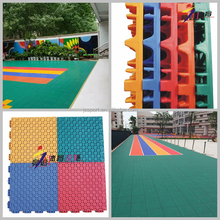 TKL250-13BJ PP interlocking sport court flooring tiles manufacture