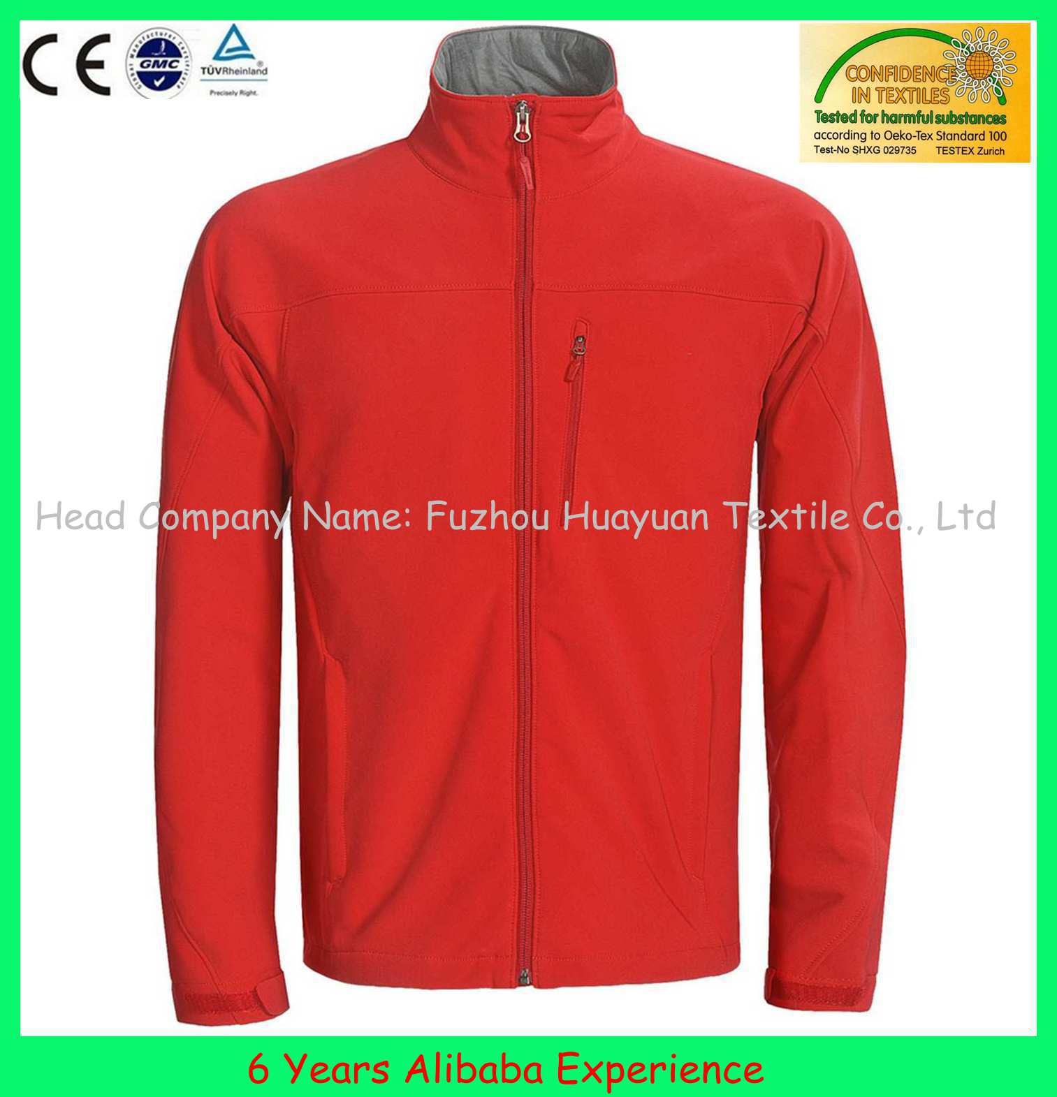 2015 fashion windproof waterproof jackets breathable outdoor sports coats - 6 Years Alibaba Experience)
