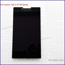 New For Lenovo Tab 2 A7-30 Assembly 7 Touch Panel Digitizer Black