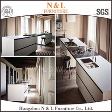 2017 Two pack China Made Cheap High Gloss Lacquer Painting modern kitchen cabinets,kitchen furniture set