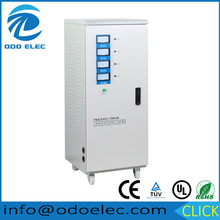 15KVA three phase 380v servo motor type meter display automatic AC voltag regulator/stabilizer/AVR