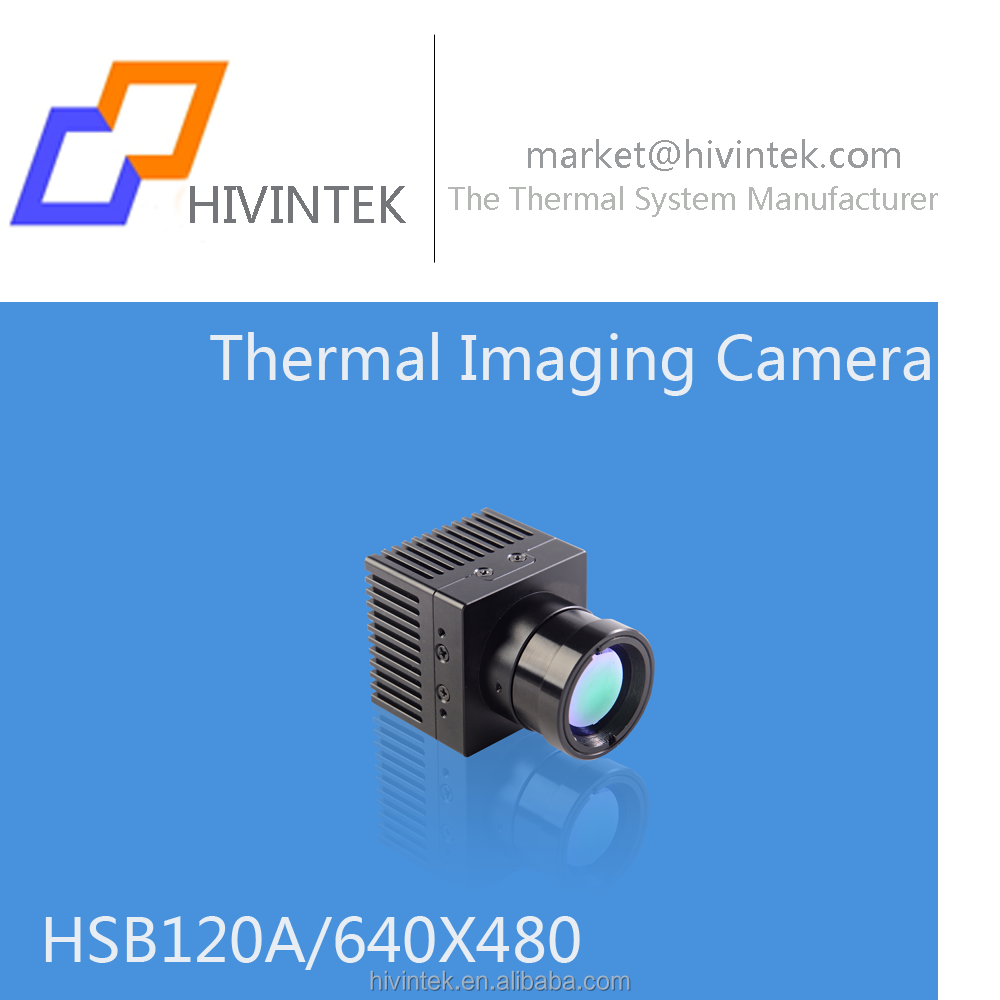 Ultra small size thermal imaging camera box 640*480 pixel uncooled detector integration