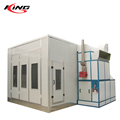 Good quality high performance large bus spray booth