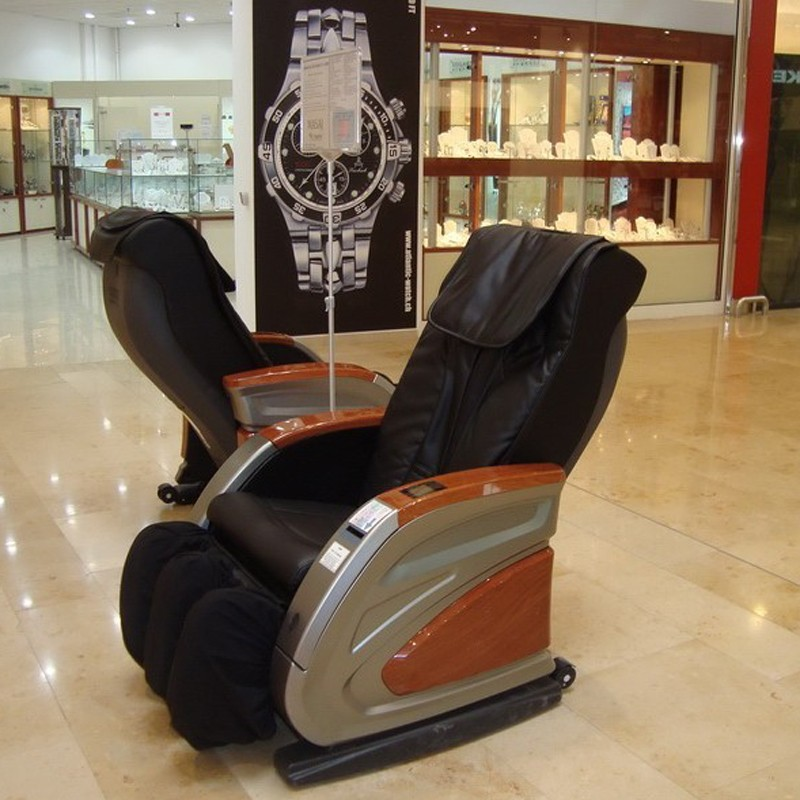 Popular Coin Operated Speed Adjustable Cheap Massage Chair For Commercial Use RT-M12