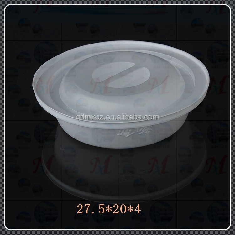black pp disposable food grade plastic tray,plastic cake tray
