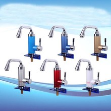 High Quality ABS Material Instant heating electric water faucet instant hot water tap E-2408