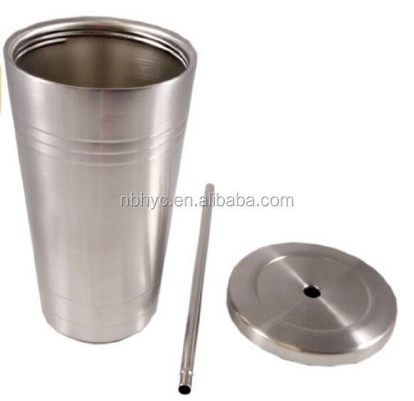 Starbucks Stainless Steel Tumbler with Straw, Double wall vacuum cold cup straw tumbler with custom logo,Stainless Steel tumbler