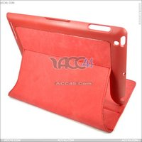 Leather cover + hard case for ipad 2 P-IPAD2CASE0103