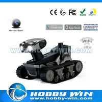 iOS/Android Wifi Controlled Wireless rc tank parts With Moving Camera