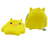 Soft change purse,silicon Material silicone smart wallet purse