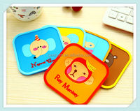 beer custom soft pvc rubber silicone drink coasters