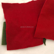 Embroidery nonwoven fabric colour felt good quality color felt for textile 100% polyester
