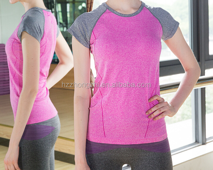 Women's Performance Run Short Sleeve T-Shirt/yoga short sleeve shirt