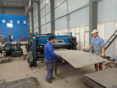 Plate Shearing (Light Weight Wall Panel Mould)