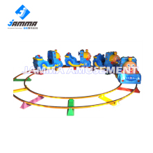 Attractive amusement park rides indoor /outdoor amusement rides electric train on kids for sale