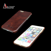 2017 Factory Folding Edge Stand Genuine Cow Leather Case Cover For iphone