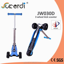 CE/EN71 3 big wheel 120/100*50mm wheel child kick scooter 2015 new scooter