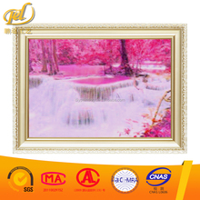 5D Diamond Embroidery DIY Drilling Round Diamond Cross Stitch,Crystal Mosaic Waterfall Cross Embroidery Painting y130