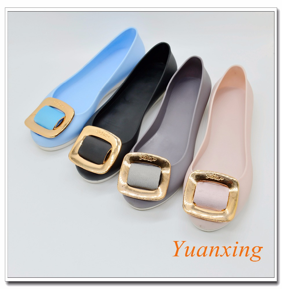 PVC Women Shoes Jelly Shoes Ladies Casual Shoes