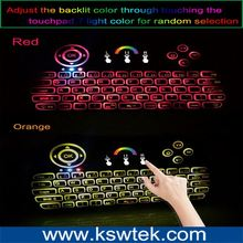 Wired Blue LED Backlight Gaming Laser USB Keyboards Leather Case With p9 Keyboard For 9.7 inch Tablet PC