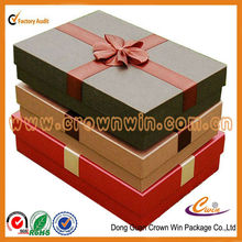 Beautiful gift box with ribbon