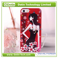 Custome design IMD phone case hard diamond case for samsung galaxy grand prime