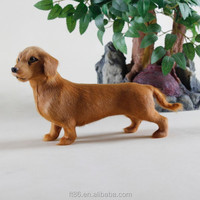 Home decoration Christmas inflatable animals figurine dachshund