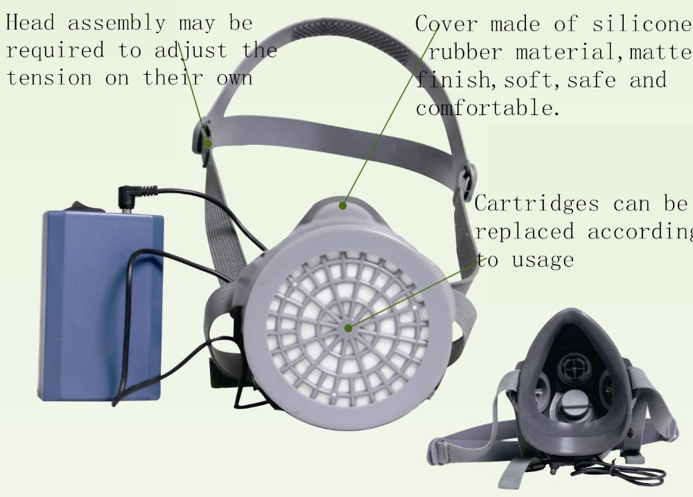 MF29 type electric blower half mask