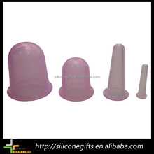 chinese anti cellulite fat reducing silicone rubber cupping massage set