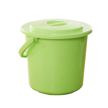 Top 10 save 5% free sample ecofriendly Shunfu 320 25.5*20.5*24 plastic bucket 10l with rope handle and lid