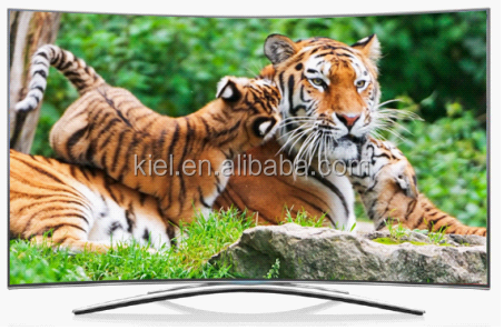 2017 new televisions curved led tv with FHD panel 1080P UHD 4K panel optional