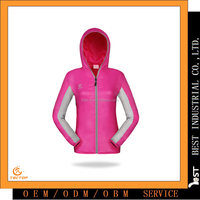 2016 China Outdoor Running Anti - uv Sun Protective Cute Hoodie for women